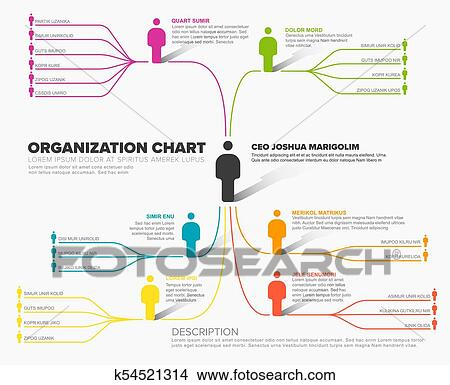 Clipart of minimalist company organization hierarchy schema diagram clipart minimalist company organization hierarchy schema diagram template fotosearch search clip art ccuart Image collections