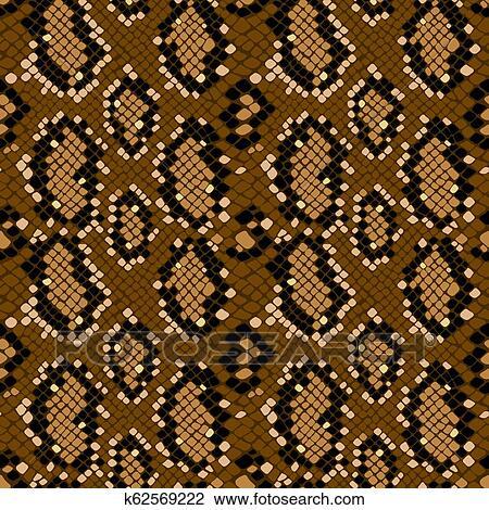 Vector pattern of green snake skin. background of snake skin . animal print.
