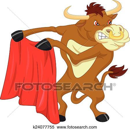 Clipart arrabbiato toro cartone animato k24077755 - Cartone animato immagini immagini fantasma immagini ...