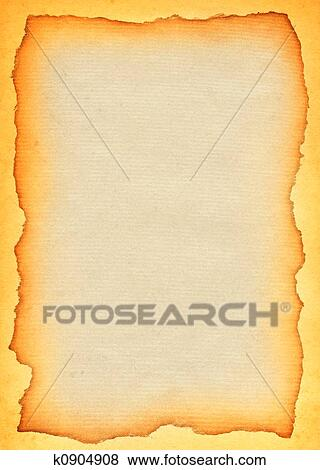 Old paper scroll Stock Illustration