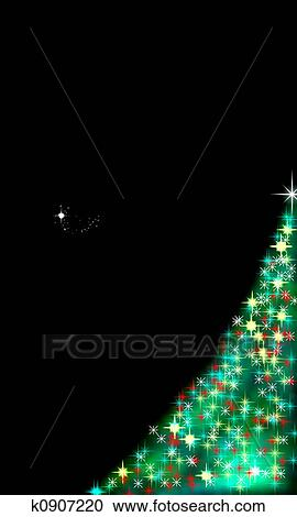 Christmas Clip Art North Star.Tree And North Star Clipart