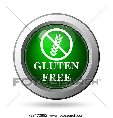 Gluten free icon Stock Image | k28172892 | Fotosearch