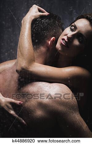 bagnato doccia sesso