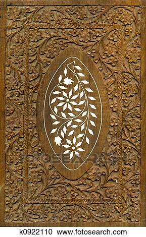 Stock Photography Of Wood Carving Pattern Design Elements K0922110