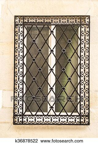 Decorative Wrought Iron Window Grills 4