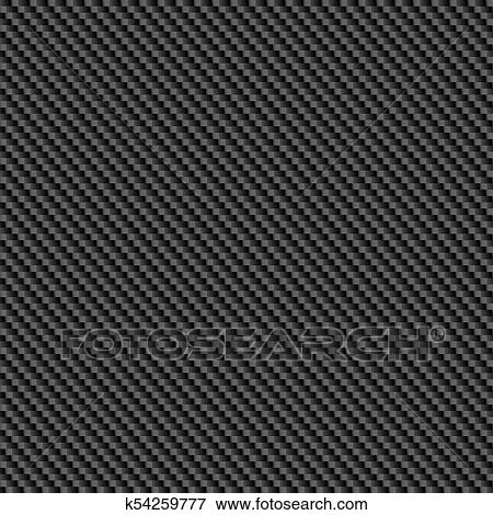 Repeating Carbon Fibre Wallpaper Clip Art K54259777
