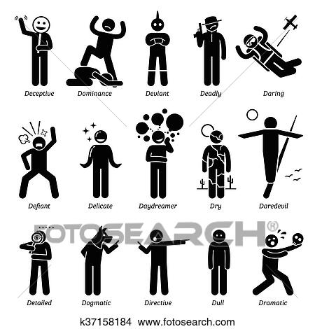 clipart of neutral character traits k37158184 search clip art