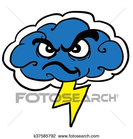 clipart of angry storm cloud k37585792 search clip art rh fotosearch com storm cloud clipart png storm cloud pictures clipart