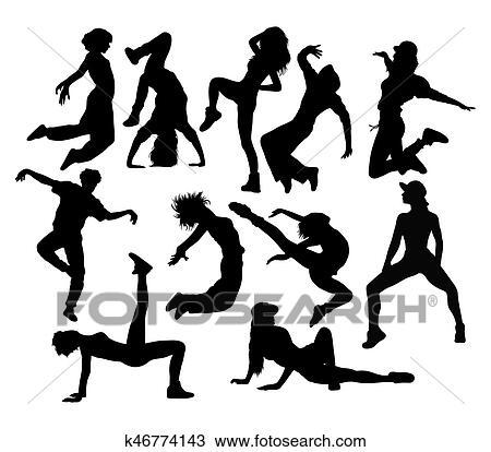 Modern Dance Clipart K46774143