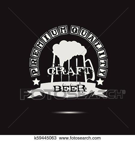 Cerveja Arte Logotipo Modelo Desenho Clipart K59445063