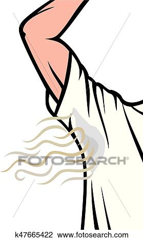 clipart of man sweating under armpit bad smell k47665422 search rh fotosearch com small victories small victories