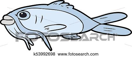 clip art of cartoon catfish k53992698 search clipart illustration rh fotosearch com catfish clipart black and white clipart catfish pictures