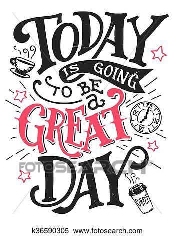 今日 ある 行く へ ありなさい A 偉人 日 レタリング カード