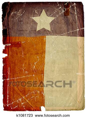 4b47aeba34bb Drawing of Dirty Grunge American Flag Paper Background Texture ...