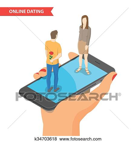 Online dating drawings