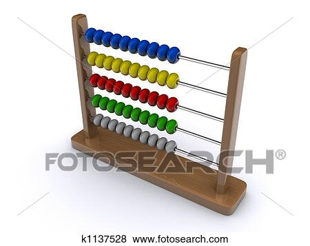 Stock Illustration of Abacus 1 k1137528 - Search EPS Clip Art ...