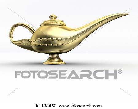 Aladin Lampe 1 Dessin