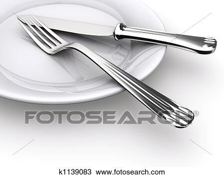 Dinner Plate Drawing