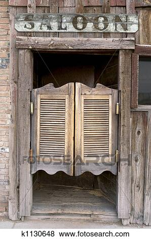 Pictures Of Western Saloon Doors K1130648 Search Stock