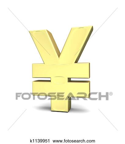 Clipart Of Yen Currency Symbol K1139951 Search Clip Art
