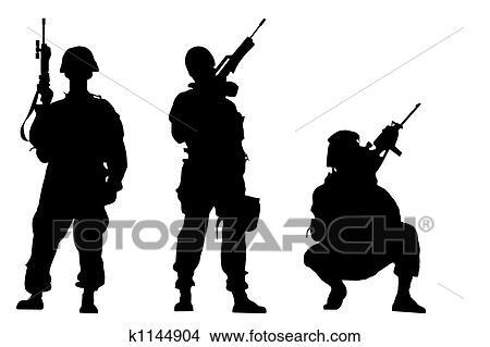 desenhos soldados k1144904 busca de ilustrações clip arte