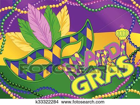 Clipart Fasching Hintergrund K33322284 Suche Clip Art