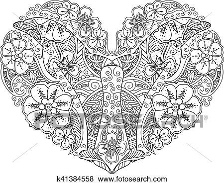 Fantastisch Königreich Herzen Färbung Seite Bilder - Entry Level ...