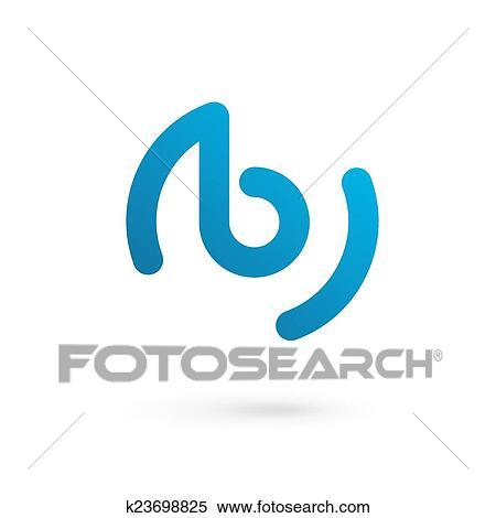 clipart letra b logotipo ícone desenho modelo elementos