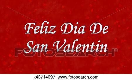 Happy Valentines Day Text In Spanish Feliz Dia De San Valentin On