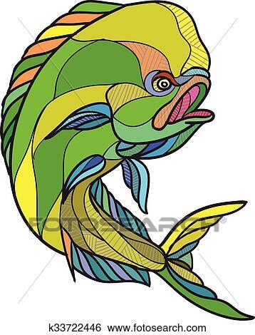 Mahi-Mahi-Fischen 2 SVG Angellogo Svg Fish Svg Angelklib   Etsy