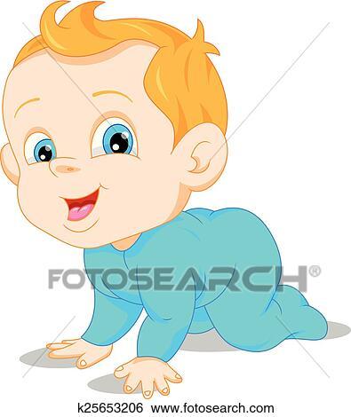 Dessin animé bébé