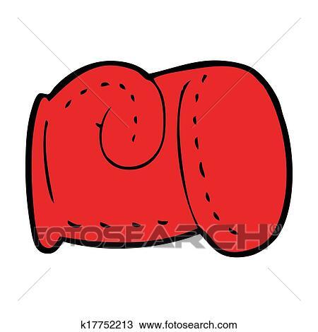dibujo caricatura guante de boxeo k17752213 buscar clip art