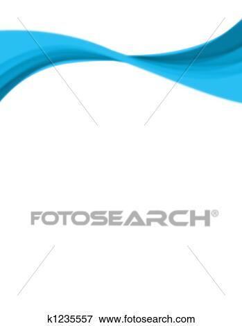 a wavy abstract layout great for use as a design template or background