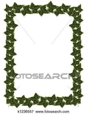 Stock Illustration Of Ivy Border Or Frame Design K1236557 Search