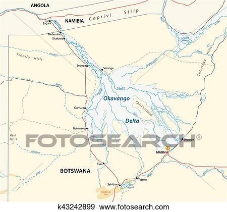 Okavango carte