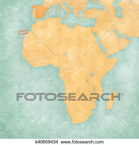 Dibujos mapa de frica canarias k40659434 Buscar Clip