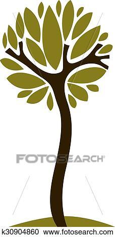 Clipart Arte Stilizzato Albero Disegno Simbolo K30904860