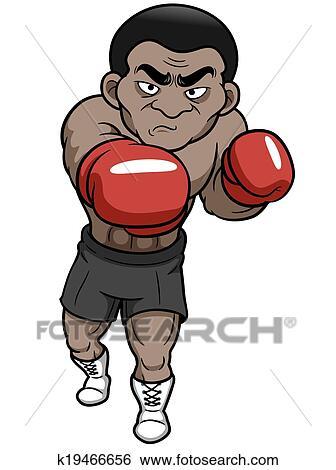 Karikatur Boxer Clip Art K19466656 Fotosearch