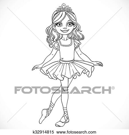 Cute Cartoon Ballerina Stock Photos, Images, & Pictures ...   Ballerina Tiaras Cartoon
