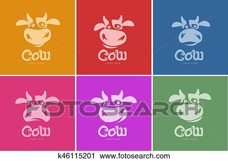 Clipart Vache Logo Gabarit K46115201 Recherchez Des Clip Arts
