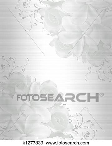 Stock Illustration Hochzeitskarten Hintergrund K1277839 Suche