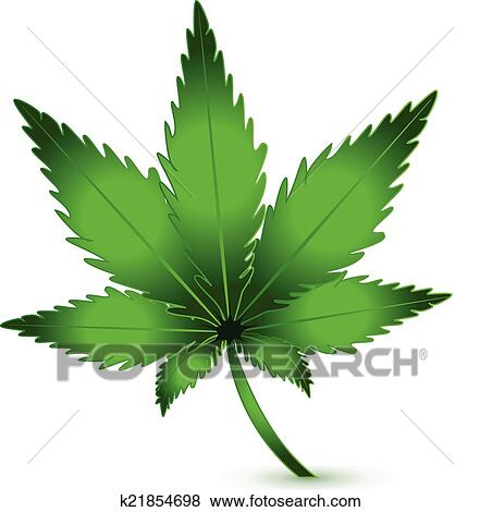 clip art of cannabis marijuana plant icon logo vector k21854698 rh fotosearch com marijuana clipart free marijuana clipart png