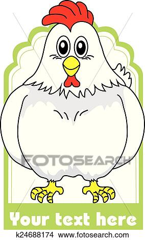 Clipart Of Chicken Food Label K24688174 Search Clip Art
