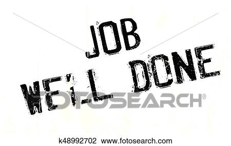 clipart of job well done rubber stamp k48992702 search clip art