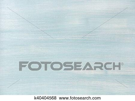 Light Blue Faded Painted Wooden Texture Background And