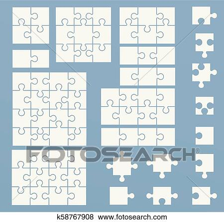 12 Piece Puzzle Template from fscomps.fotosearch.com