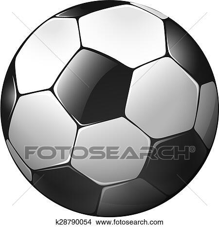 Fussball Ball Clipart K28790054 Fotosearch
