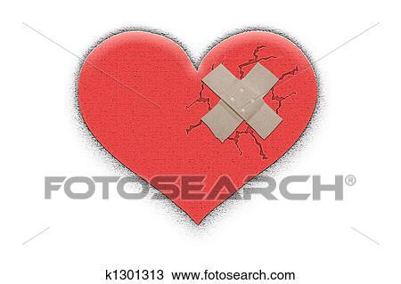 hart tekening   k1301313   fotosearch