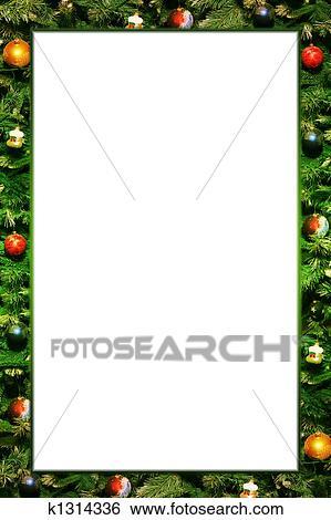 Fotorahmen Weihnachten.Weihnachten Rahmen Stock Illustration