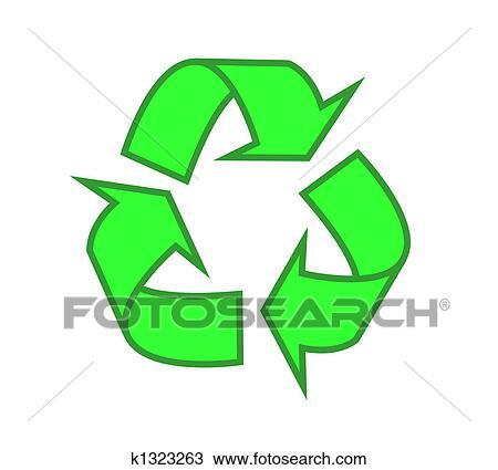 desenho reciclagem pináculos k1323263 busca de imagens clip art